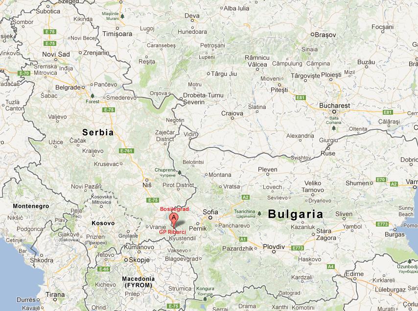 Granični prelaz Ribarci - Bosilegrad